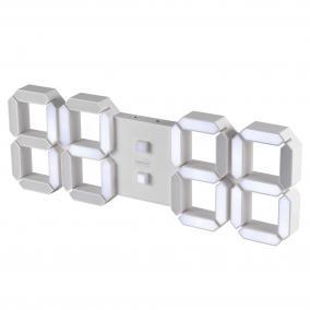 Digitális 3D LED ébresztőóra