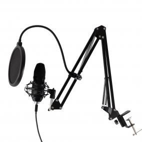 USB mikrofon szett