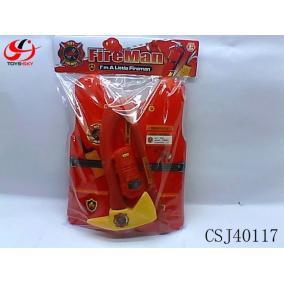 Játék tűzoltó felszerelés #CSJ40117