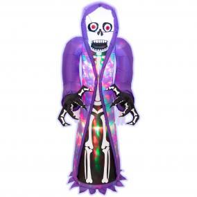 Felfújható Halloween csontváz, 152cm
