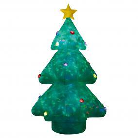 Felfújható karácsonyfa, kültéri, 244cm