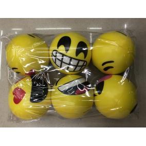 Stressz labda #smiley mintás #többféle