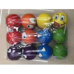 Stressz labda #kicsi #színes #többféle 6,3cm