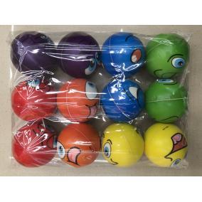 Stressz labda #kicsi #színes #többféle, 6cm