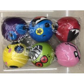 Stressz labda #színes #többféle 7,6cm