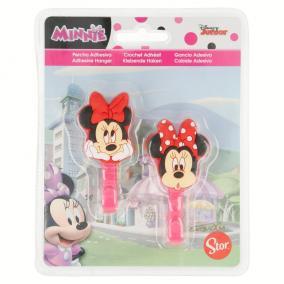 2 db-os Öntapadós akasztó- Minnie Mouse