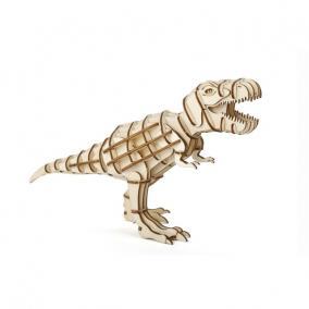 3D fa puzzle, T-Rex