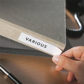 Címketartó zseb, 15x102 mm, öntapadó, 3L [20 db]