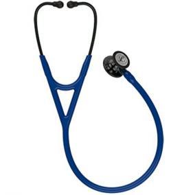 Fonendoszkóp Littmann Cardiology IV s.kék, magasfényű füst fej, fekete hallgató, kék csőszár 6202