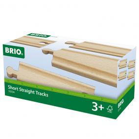 4 db rövid egyenes sin 33334 Brio