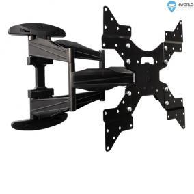 4World LCD 32-50 falitartó VESA 400 dönthető-forgatható max 50kg fekete