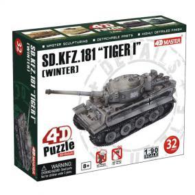 4D puzzle 32 db - Tigris Tank