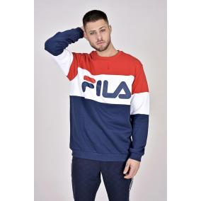 Fila Men Straight Blocked Crew [méret: M]
