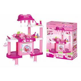 Játékkonyha - tartozékokkal, rózsaszín II