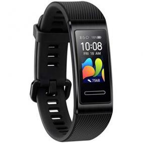 Aktivitásmérő karpánt - Huawei, BAND 4 PRO, BLACK