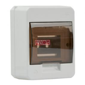 ANCO Falonkivüli biztosítéktábla 4/1 N/PE sínnel