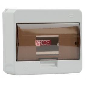 ANCO Falonkivüli biztosítéktábla 7/1 N/PE sínnel