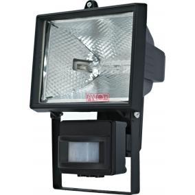 ANCO Halogén reflektor mozgásérzékelővel 400W, fekete