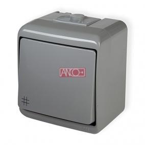 ANCO Junior keresztkapcsoló, kültéri, szürke