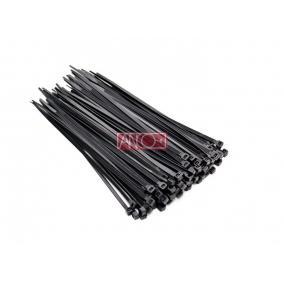 ANCO Kábelkötegelő 3.5mmx150mm, fekete [100 db]