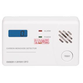 ANCO Szénmonoxid érzékelő LCD kijelzővel