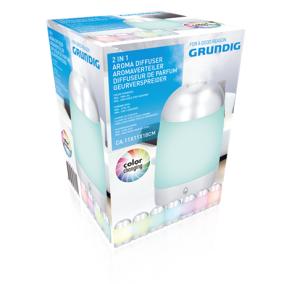 Aromalámpa és párásító színváltós - Grundig, 871125203170