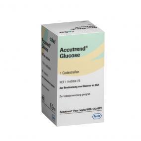 Tesztcsík Accutrend Glucose 25db