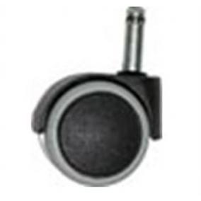 Görgő irodai székhez, kemény felületre, 10-es, 5 db/csomag, szürke/fekete [5 db]