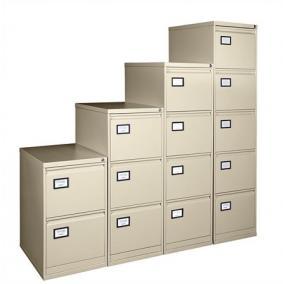 Függőmappatároló fémszekrény, 3 fiókos, VICTORIA, bézs