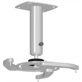 Projektor konzol, univerzális, mennyezeti, fix: 25 cm