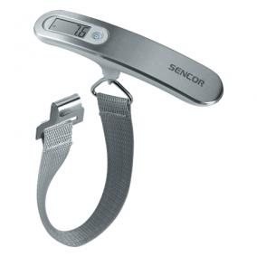 Mérleg bőrönd - Sencor, SLS900WH