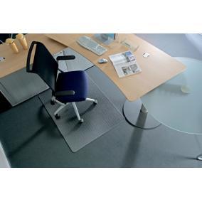 Székalátét, kemény felületre, E forma, 150x120 cm, RS OFFICE