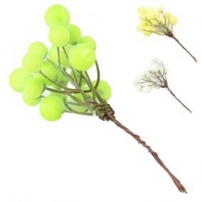 Bogyós ág zöld,fehér,sárga 3 féle