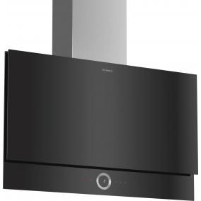 Bosch DWF97RV60 Kürtős páraelszívó, 90cm - 730 m3 - 3+2 fokozat - sík fekete, Serie8, HomeConnect