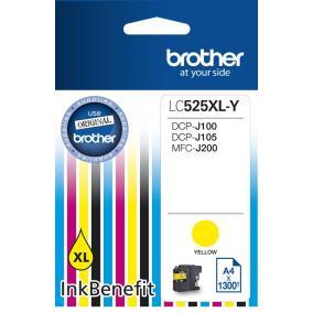 Brother LC 525 XL [Y] tintapatron (eredeti, új)