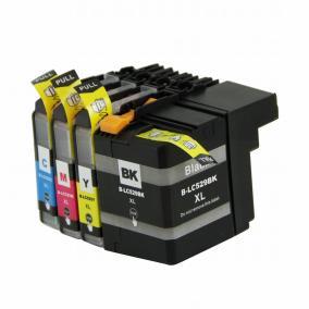 Brother LC 529 XL + LC 525 XL kompatibilis [BK-CMY] tintapatron (ForUse)