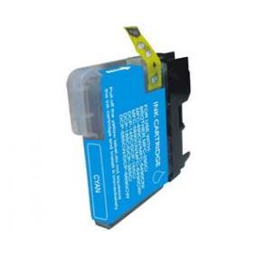 Brother LC 1100 / LC 980 kompatibilis [C] tintapatron (ForUse)