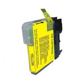 Brother LC 1100 / LC 980 kompatibilis [Y] tintapatron (ForUse)