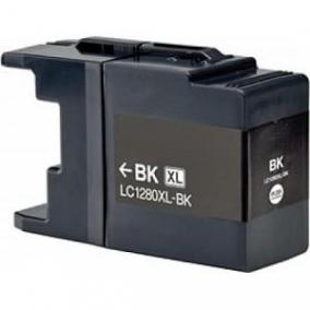 Brother LC 1280XL / LC 1240 kompatibilis [BK] tintapatron (ForUse)