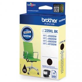Brother LC 229 XL [BK] tintapatron (eredeti, új)