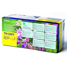 Brother TN 320 [Y] toner [1,5k] (eredeti, új)