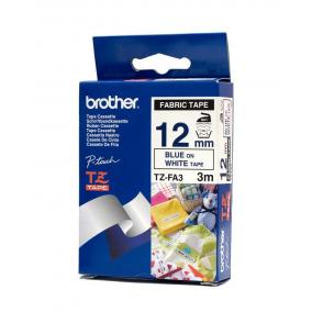 P-Touch Brother TZe-FA3 (12mm, TEXTIL)