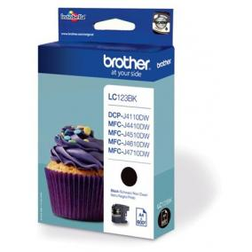 Brother LC 123 [BK] tintapatron (eredeti, új)