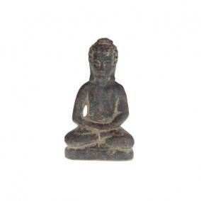 Buddha kerámia 12 cm x 9 cm x 21 cm sötét szürke