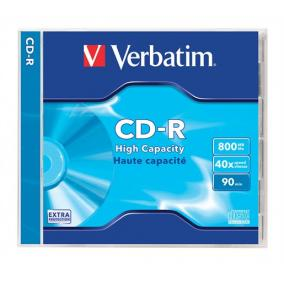 CD-R 800 MB, 90min, 40x, normál tokban (Verbatim)