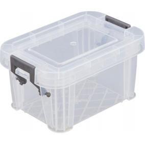 Műanyag tárolódoboz, átlátszó, 0,2 liter, ALLSTORE