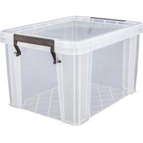 Műanyag tárolódoboz, átlátszó, 5 liter, ALLSTORE
