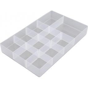 Rendező tálca 5,5 és 10 literes műanyag tárolódobozokhoz, ALLSTORE