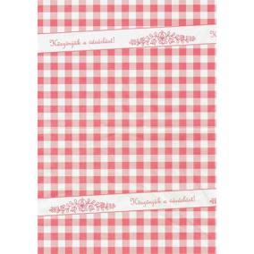 Húscsomagoló papír, íves, 30x38 cm, 4 kg [4 kg]