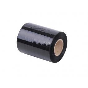 Kézi nyújtható fólia, fekete, 0,1m x 153m [153 méter]